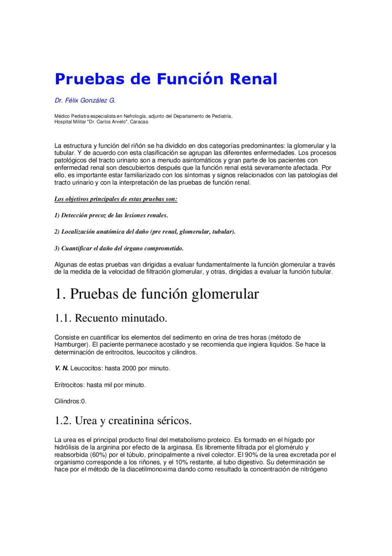 pruebas de funcionamiento renal by hector marrufo - issuu
