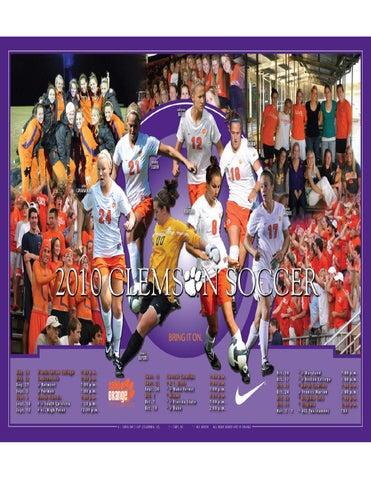 b94853e16dcd1b 2010 Clemson Women s Soccer Media Guide by Clemson Tigers - issuu