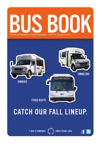 Omnitrans Bus Book