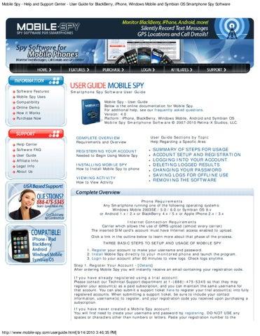 mobile spy com userguide html