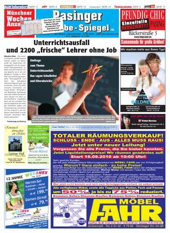 KW 37-2010 by Wochenanzeiger Medien GmbH - issuu
