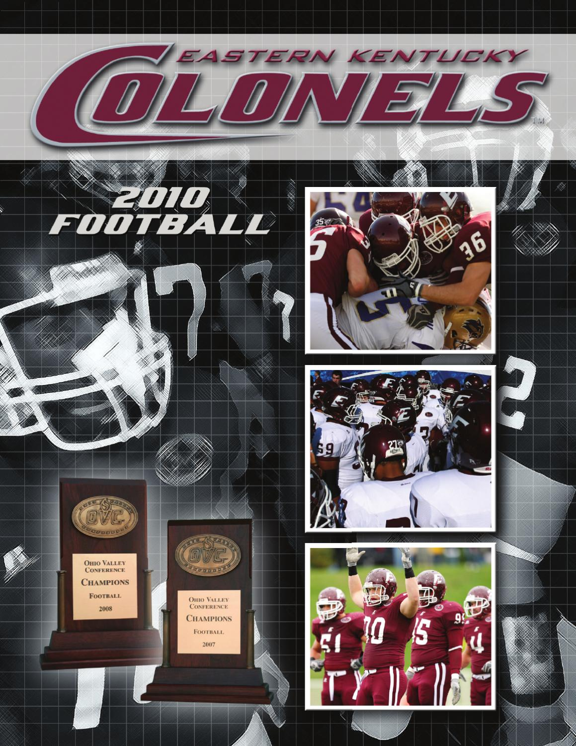 214165a442c 2010 EKU Football Guide by EKU Sports - issuu