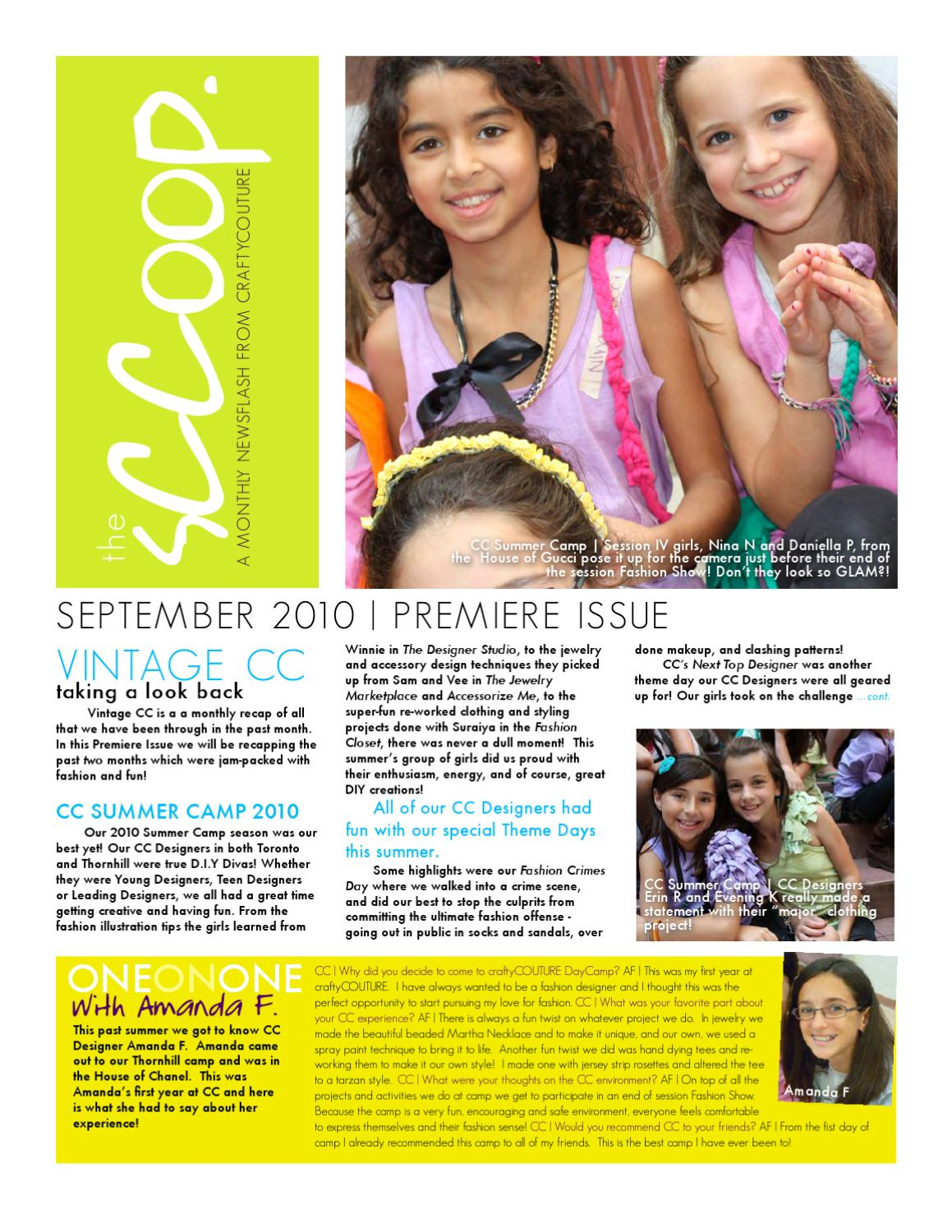 The Sccoop Premiere Issue By Tahsin Dhirani Issuu