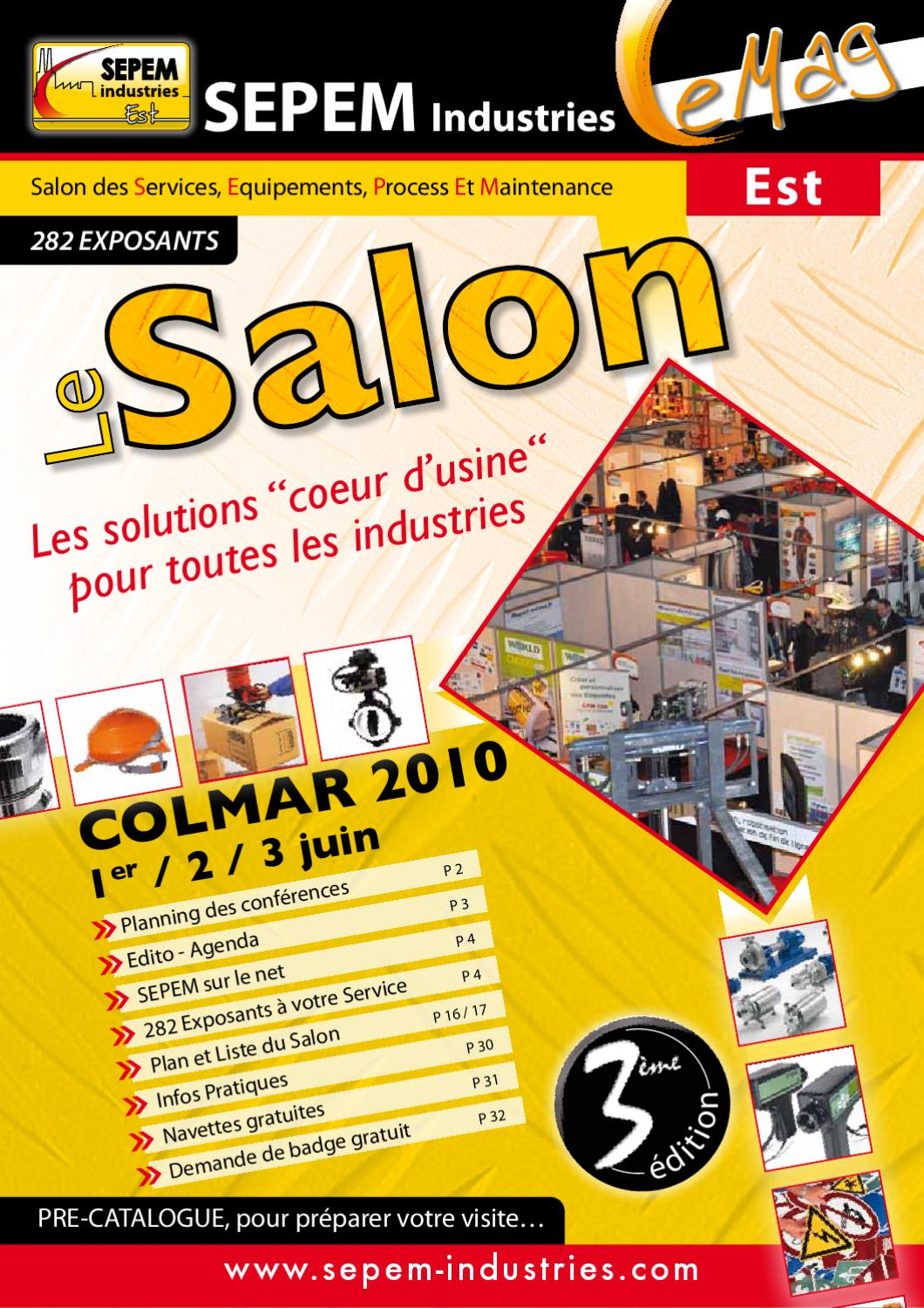 Journal salon colmar sepem industries by even pro issuu for Salon sepem
