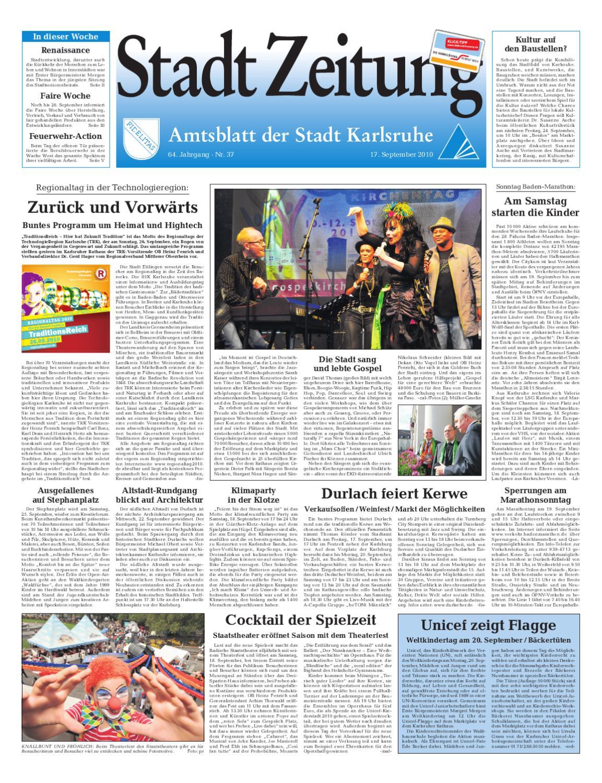 Stadtzeitung Karlsruhe