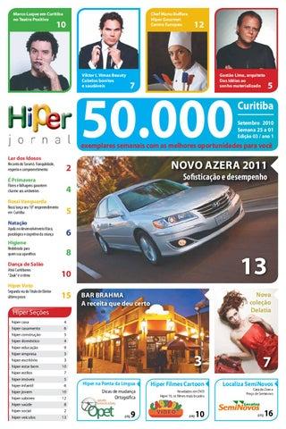 36abb52f88 Hiper Jornal - Edição 03   Ano 1 - Setembro de 2010 by ehiper ehiper ...