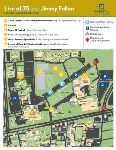 Hofstra University Map Live at 75 Event Map by Hofstra University   issuu