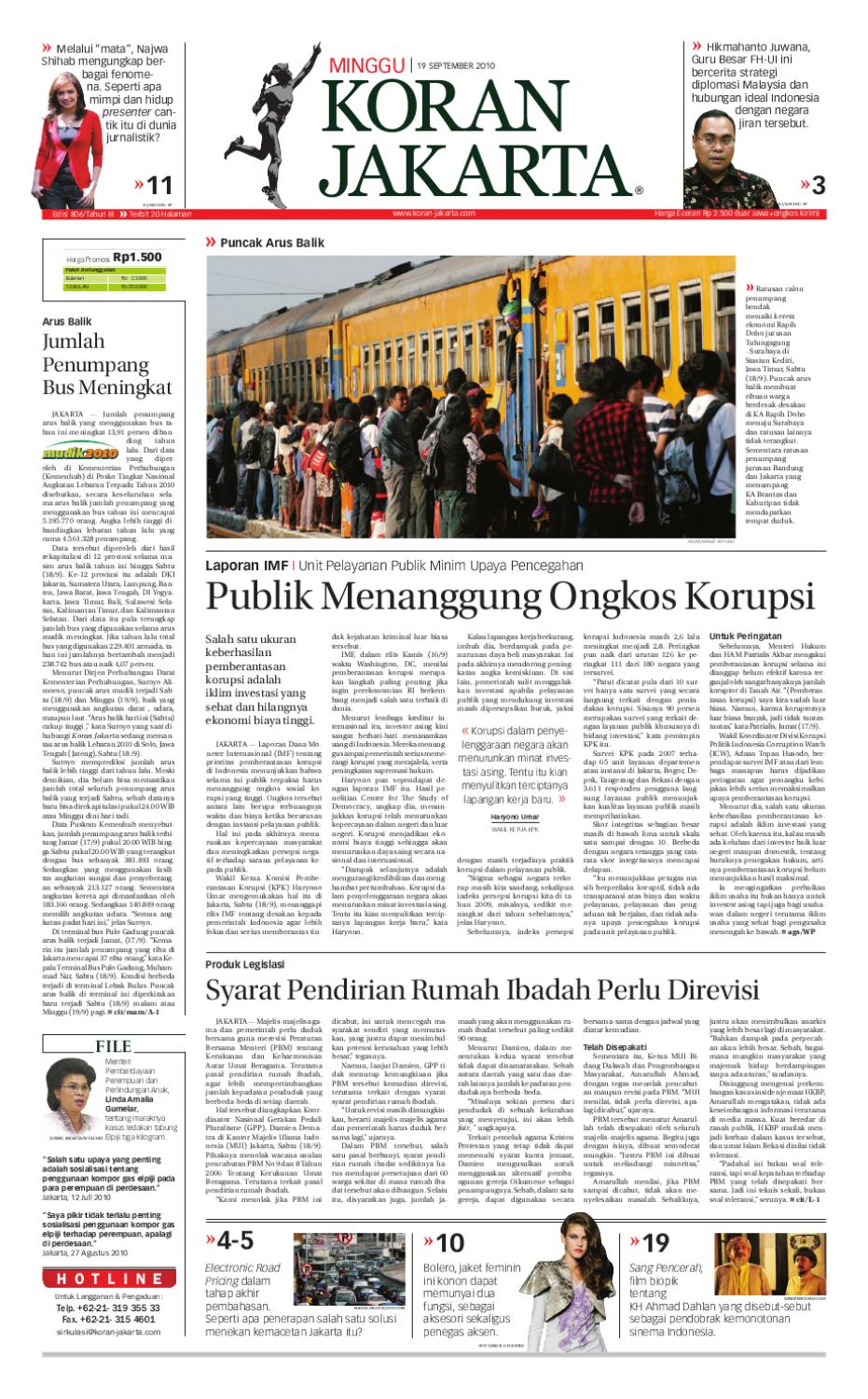 Edisi 806 19 September 2010 By Pt Berita Nusantara Issuu Meisa Bulu Mata Palsu Tipe Ren Bawah