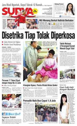 Surya Edisi Cetak 20 September 2010 by Harian SURYA - issuu 6c3de17b59