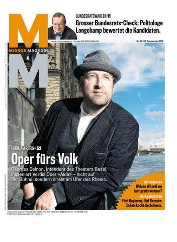 17367ae44d24c5 Migros Magazin 38 2010 d OS by Migros-Genossenschafts-Bund - issuu