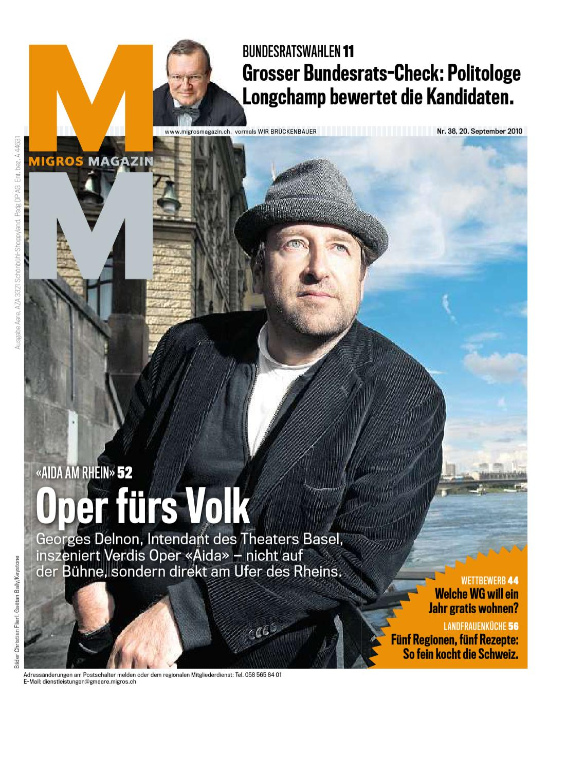 Migros Magazin 38 2010 D Vs By Migros Genossenschafts Bund Issuu