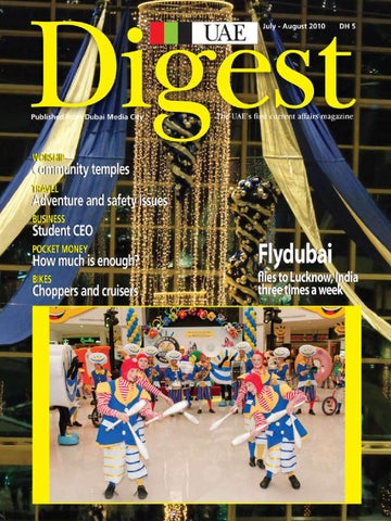 UAE Digest Aug '10 by Sterling Publications - issuu