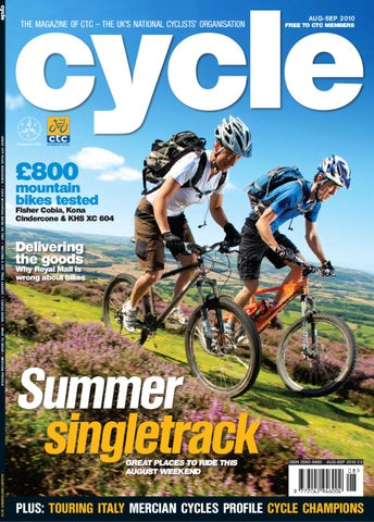 Cycle Magazine Aug-Sep 2010 by Cycling UK 824d82e07