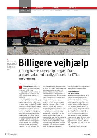 932d1a2b950 DTL og Dansk Autohjælp har indgået en aftale om favorabel vejhjælp til DTLs  medlemsvirksomheder.