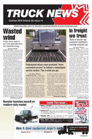 0d686ce4de8 Truck News October 2010 by Annex Business Media - issuu