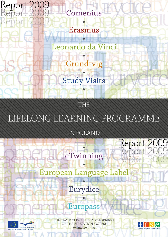 The Lifelong Learning Programme in Poland - Report 2009 by Fundacja Rozwoju  Systemu Edukacji - issuu