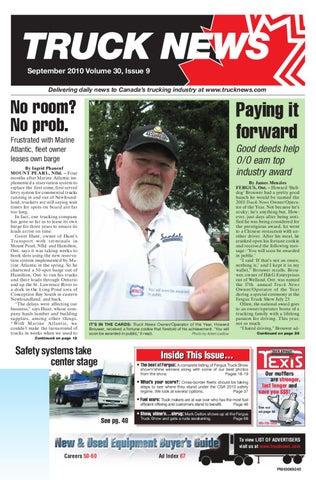 Truck News September 2010 By Annex Business Media Issuu