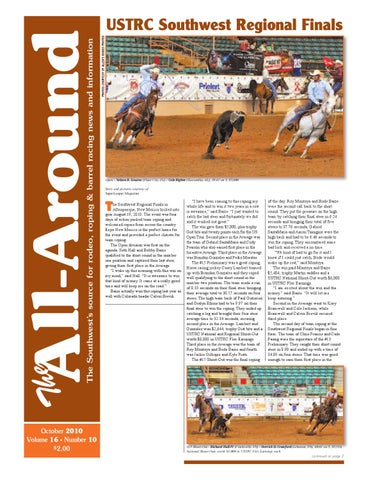 687f81e151e The All Around-Oct 2010 by Western Sports Publishing - issuu