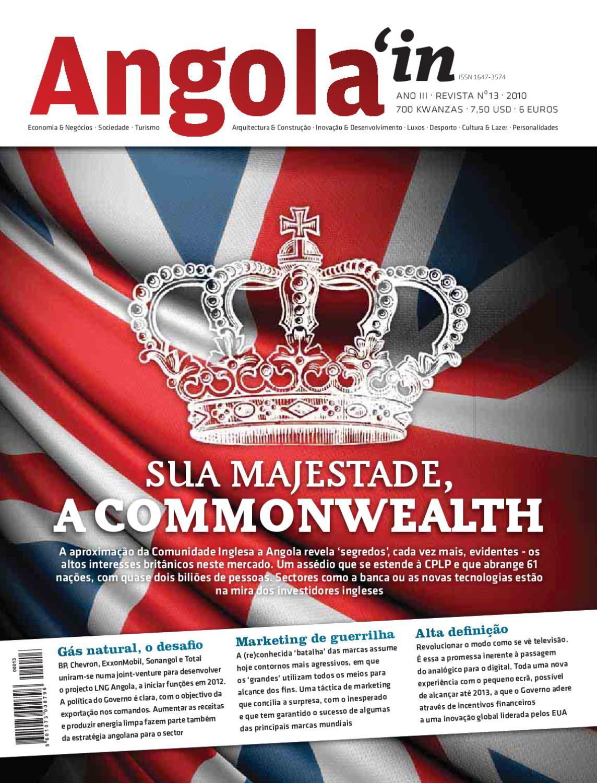 Revista Angola in 13 by Comunicare - issuu e14584067f4