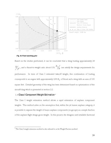 Page 25 of 1.4 Class I Component Weight Estimation