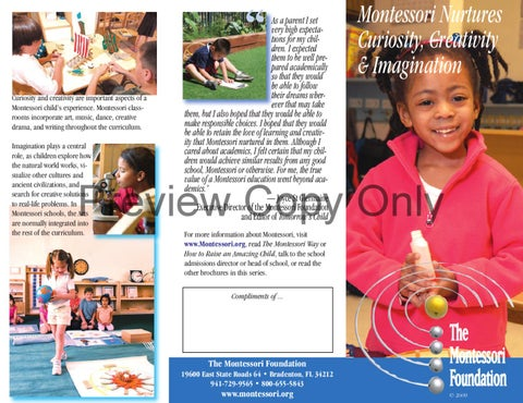 sample pamphlets for tuitions