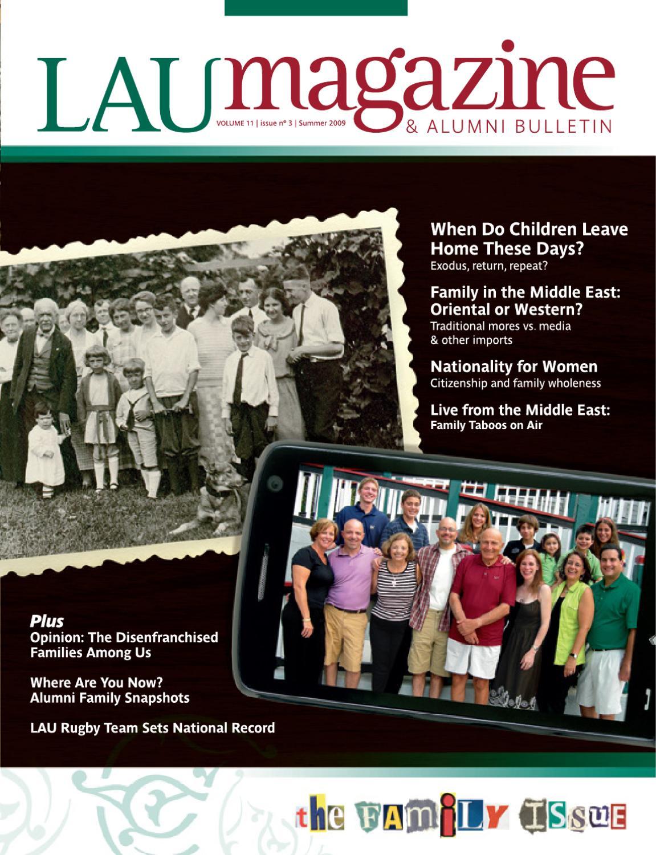 LAU Magazine U0026 Alumni Bulletin (Summer 2009, Vol. 11, Issue No. 3) By  Lebanese American University   Issuu