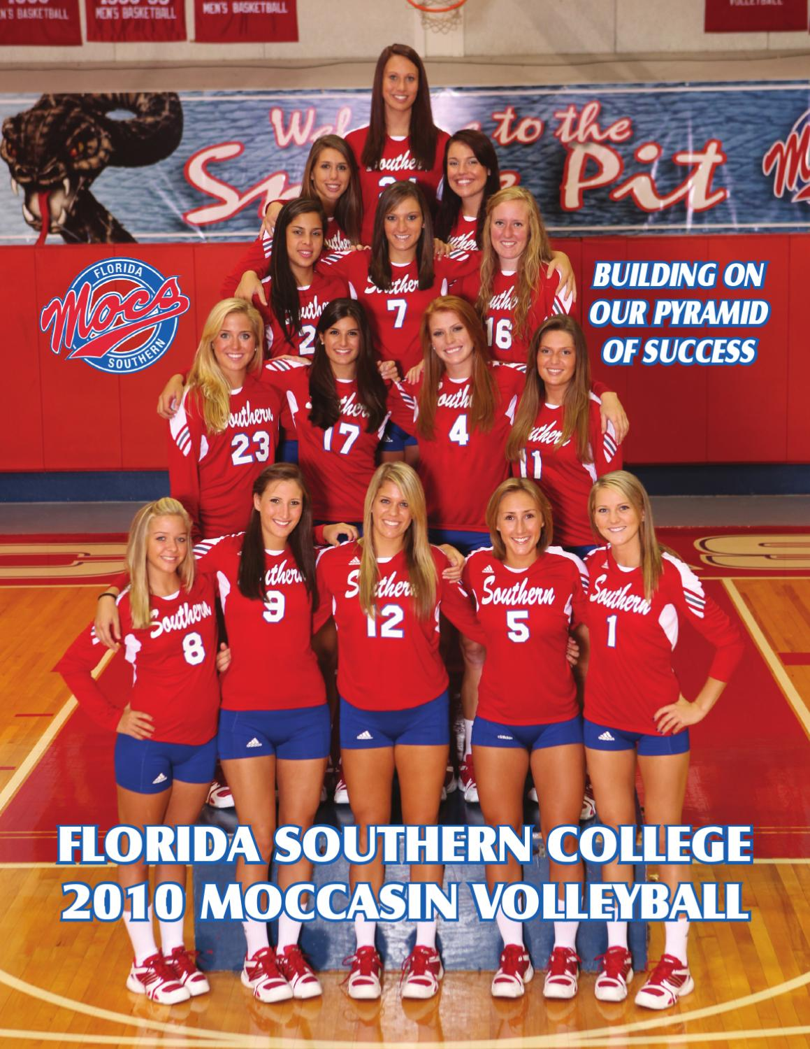 Volleyball 2010 Media Guide By Florida Southern College Athletics Issuu