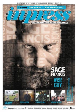 Inpress issue 1141 by themusic issuu page 1 fandeluxe Images