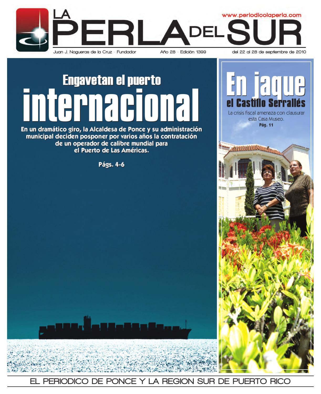 Edicion 1399 by Periódico La Perla Del Sur - issuu