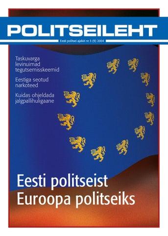 fe26ea0462c Politseileht 9 by Eesti Politsei - issuu