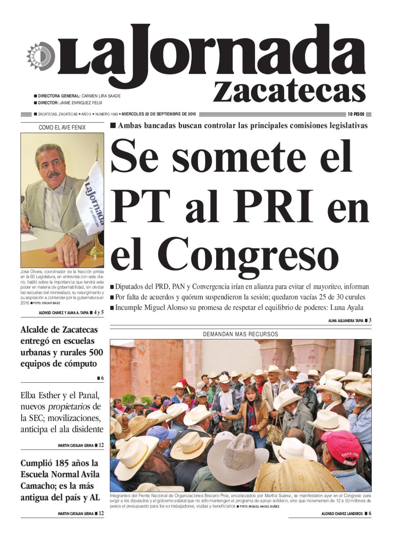 Muebles Goitia Tijuana - La Jornada Zacatecas Mi Rcoles 22 De Septiembre De 2010 By La [mjhdah]https://image.isu.pub/170910094831-262a42740080140238c7fdee1544770f/jpg/page_1.jpg