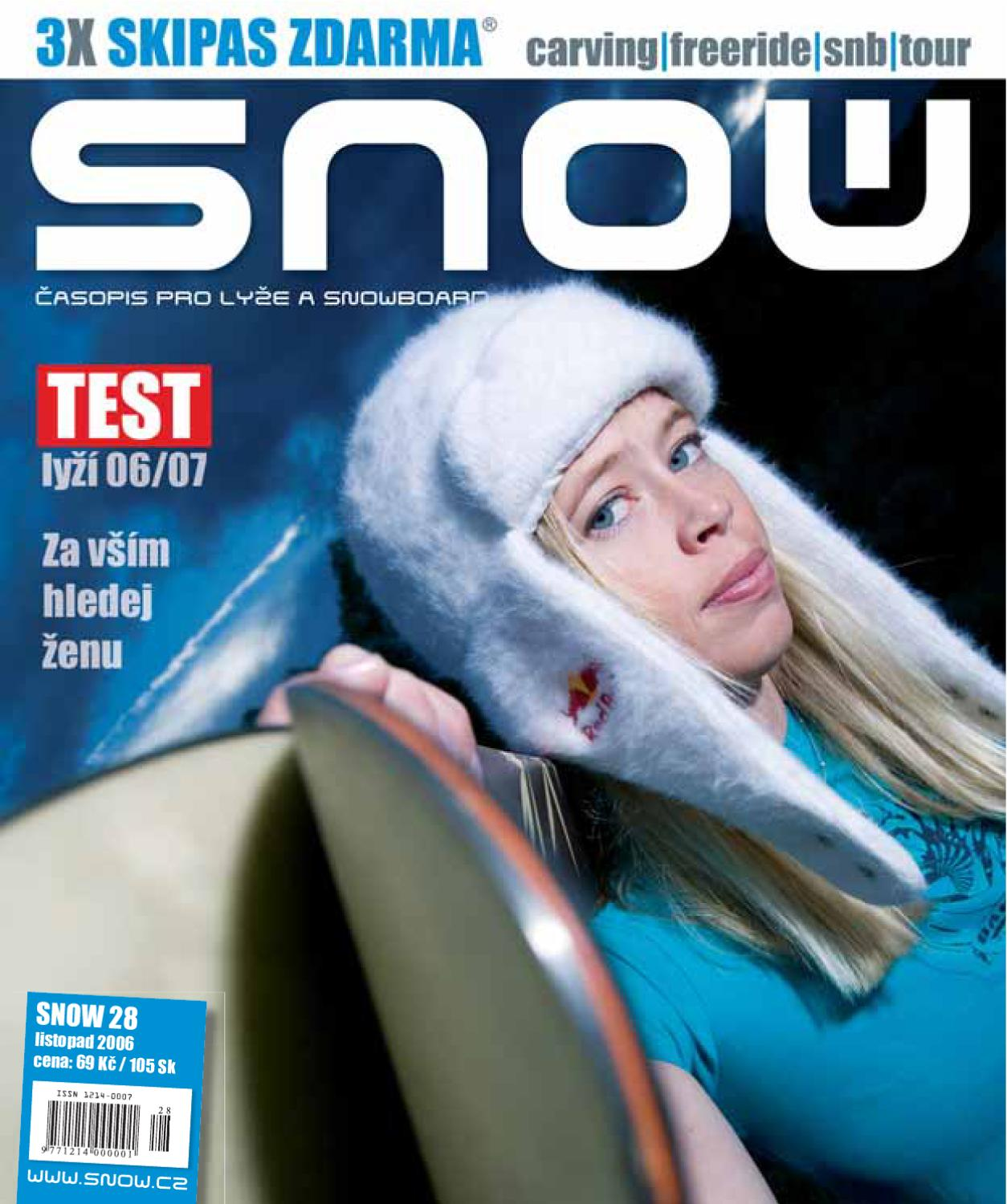 85d3378e9cb SNOW 28 - listopad 2006 by SNOW CZ s.r.o. - issuu