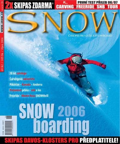34da893dca SNOW 26 - říjen 2006 by SNOW CZ s.r.o. - issuu