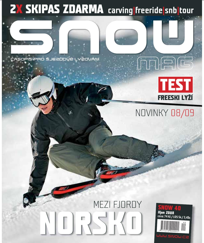 SNOW 40 - říjen 2008 by SNOW CZ s.r.o. - issuu f3c455c40f