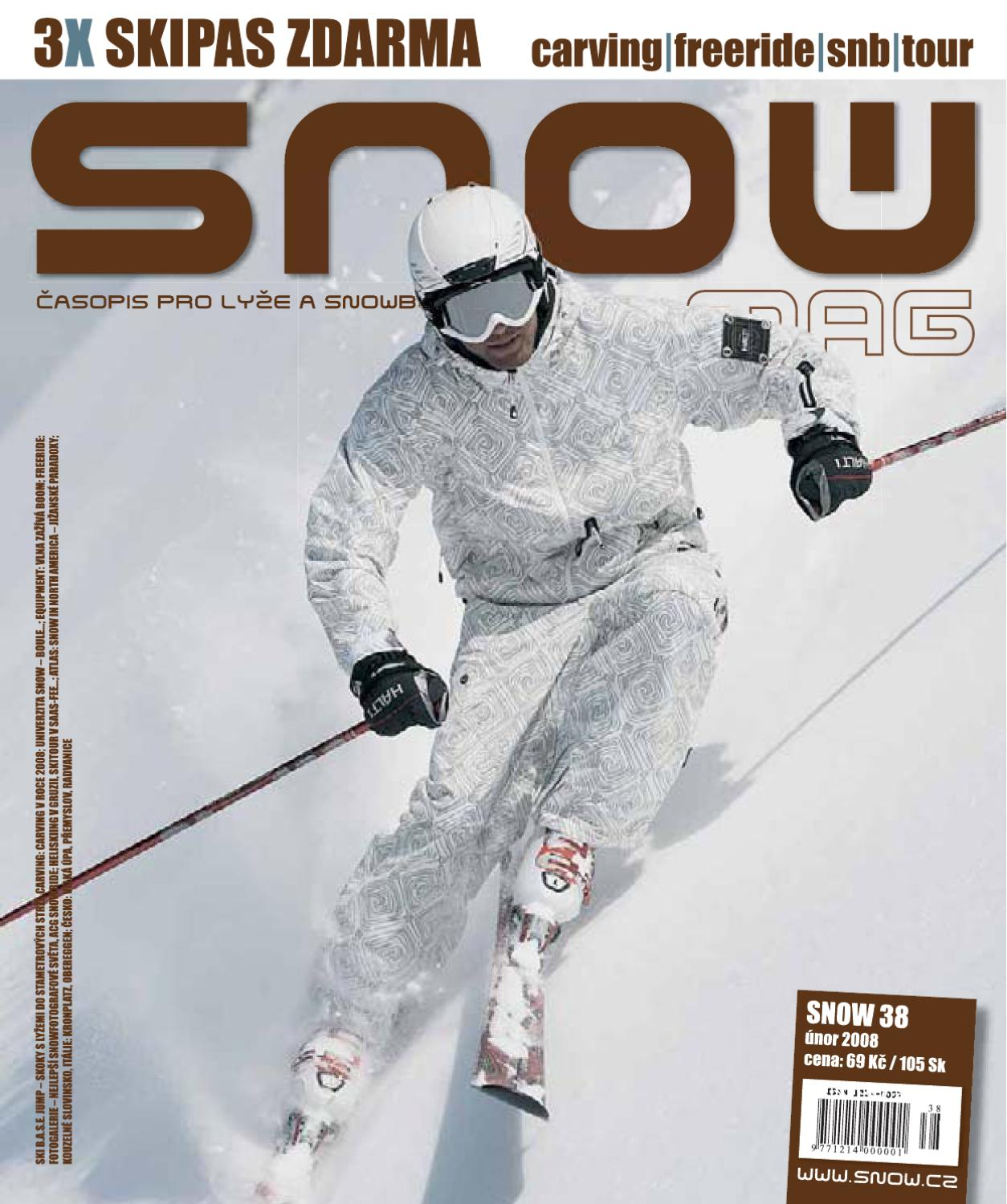 b5d229f59fb SNOW 38 - únor 2008 by SNOW CZ s.r.o. - issuu