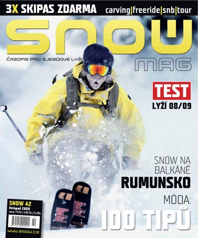 3d062788b8 SNOW 42 - listopad 2008 by SNOW CZ s.r.o. - issuu