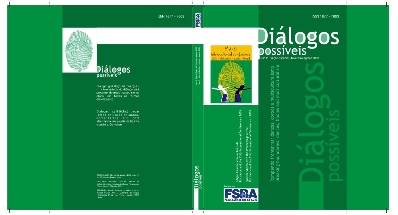 aa3440c1c3 Revista Diálogo Possíveis Edição Especial Fevereiro-agosto 2003 by Guiga  Matos - issuu