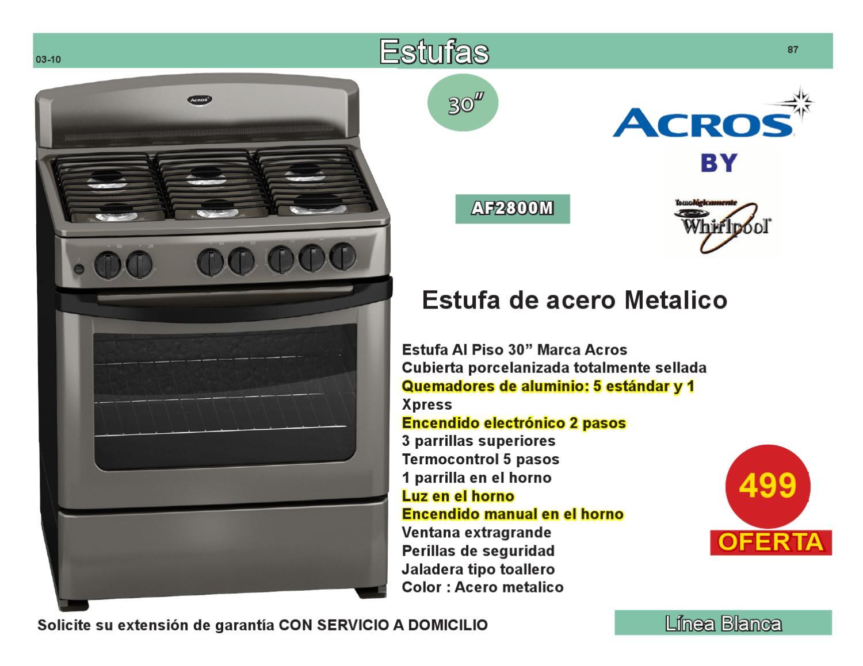 Estufas mexico otros sep 2008 by delias furniture - Tipos de estufas ...