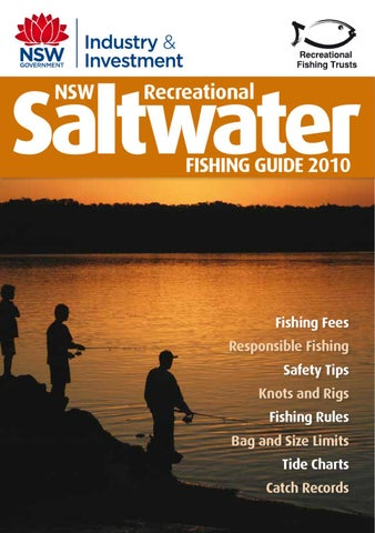 Saltwater Fishing Guide Nsw By Myboatingshop Issuu