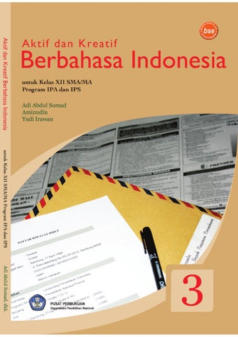 Aktif Dan Kreatif Berbahasa Indonesia By Mpkw Jakarta Issuu