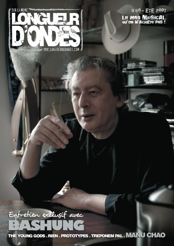 ebb0e1ff647175 Longueur d Ondes n°40 (Eté 2007) by Longueur d Ondes - issuu