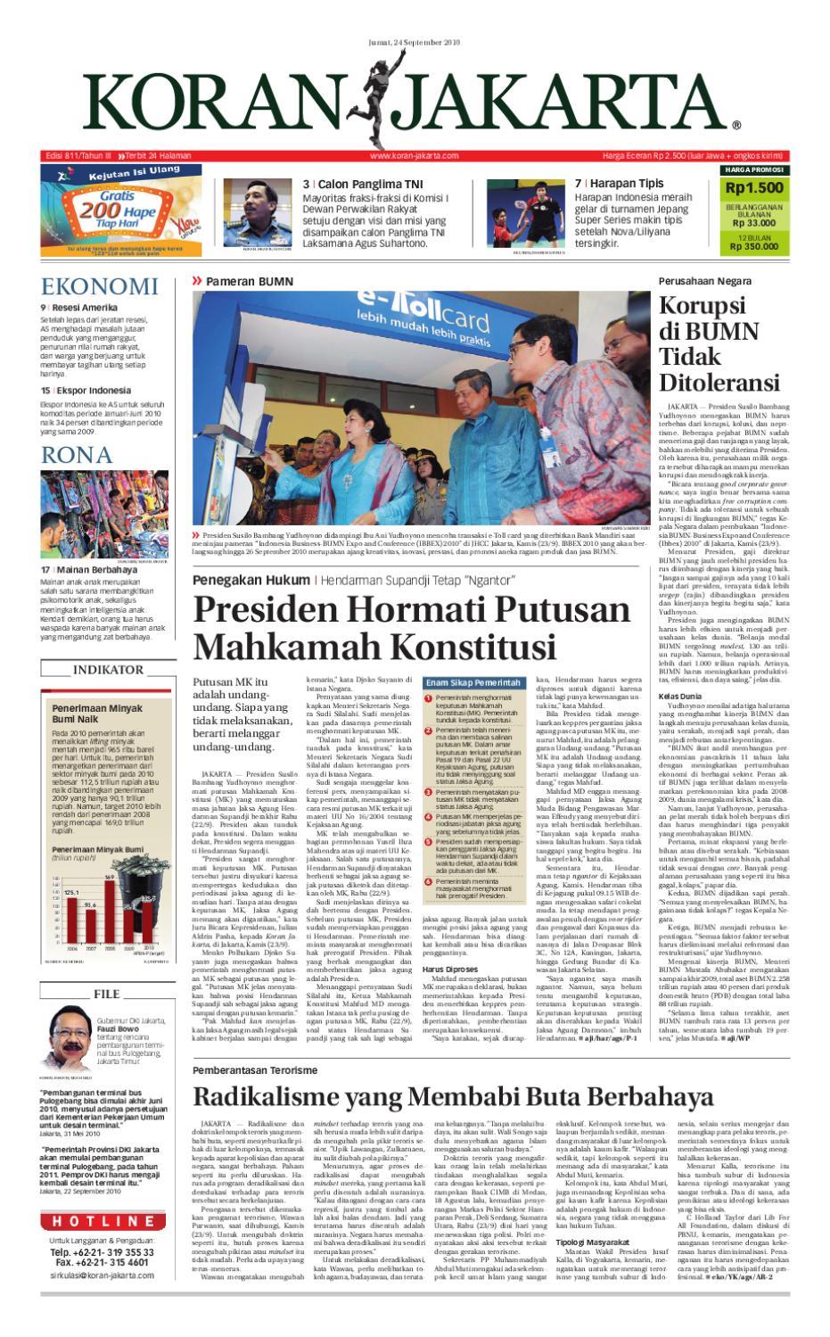 EDISI 811 24 SEPTEMBER 2010 By PT Berita Nusantara Issuu