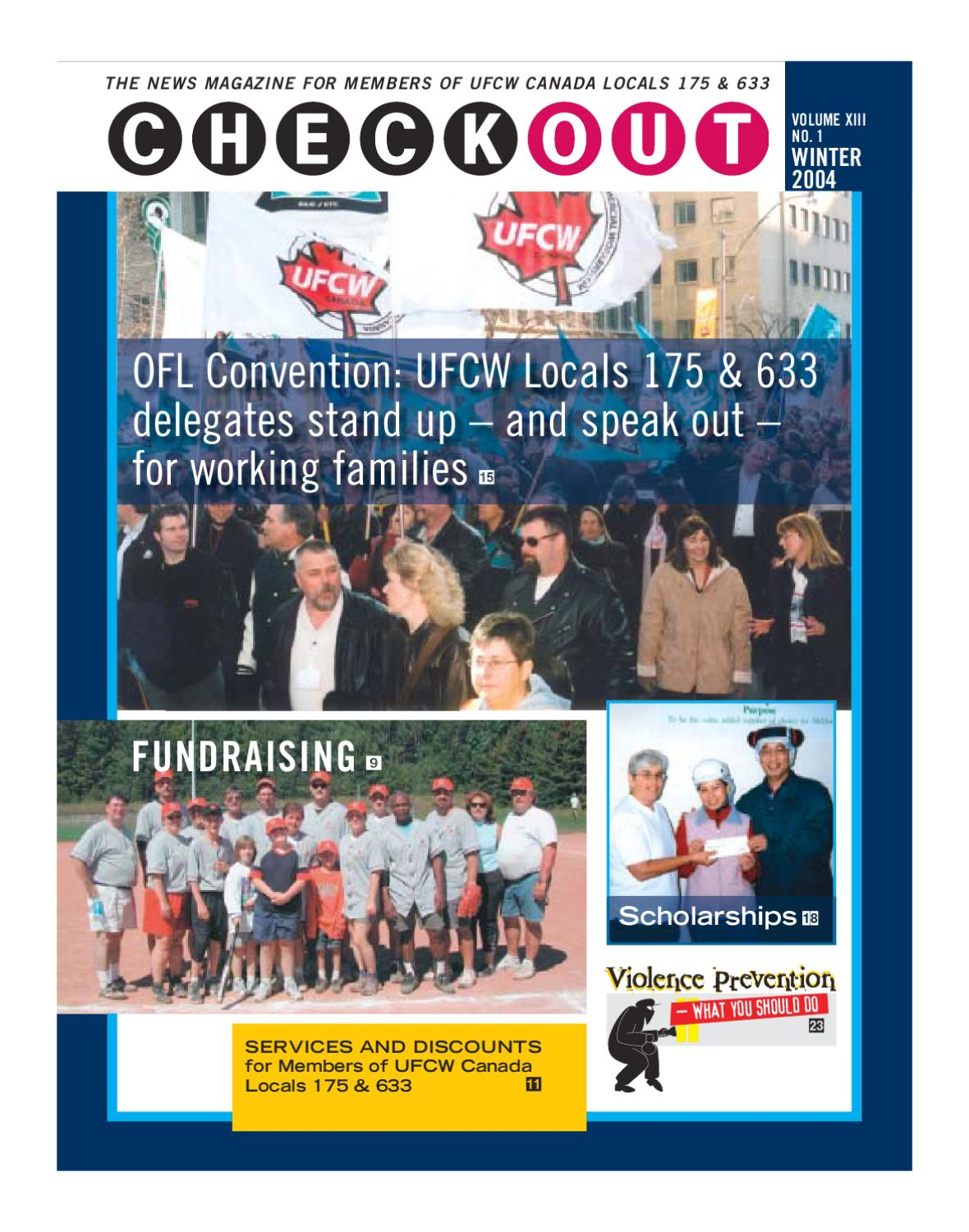 Checkout Winter 2004 By Ufcw Locals 175 633 Issuu