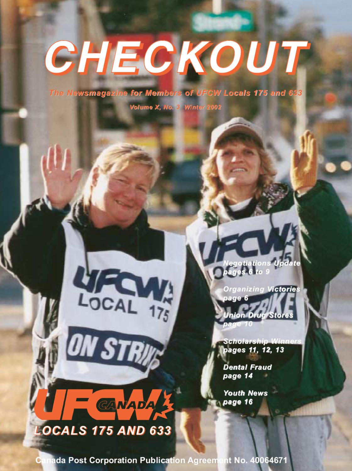 Checkout Winter 2002 By Ufcw Locals 175 633 Issuu