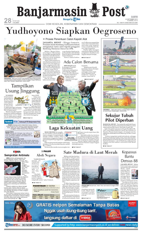 Banjarmasin Post - Edisi Sabtu 9f52eccd81