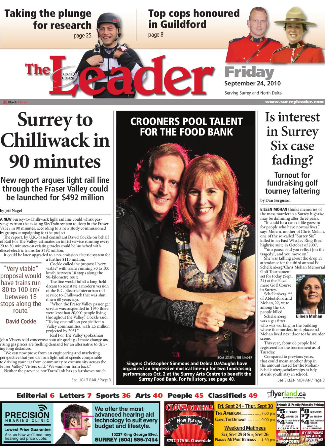 Fri Sept 24 2010 Leader by Surrey Leader issuu