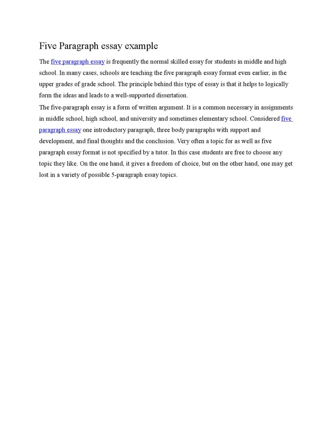 five paragraph essay example by martin wright  issuu