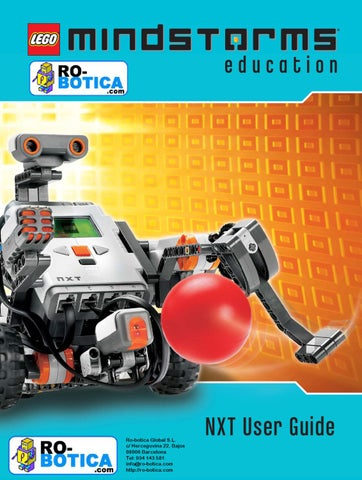 LEGO Mindstorms Education NXT  Guía de usuario by RO-BOTICA