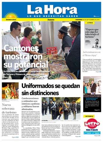 Diario 26 De Septiembre 2010 By La Hora Zamora qzpSUGMV