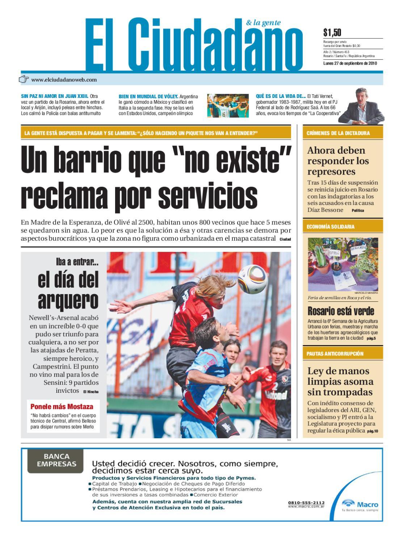 Edición 27 de septiembre by Dario Elciudadano - issuu